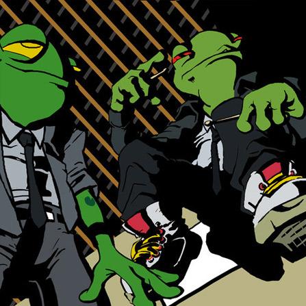 Frogs in Socks – Between Play